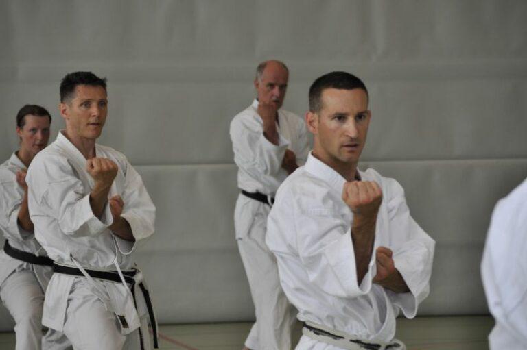 Beni Roos ist Schiedsrichter Kumite A im SKF